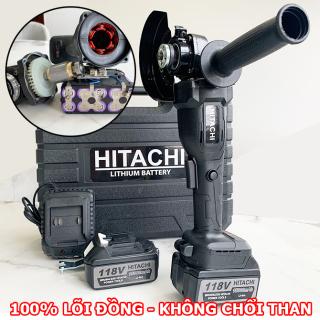 Máy mài pin Hitachi 118v - 2 Pin 10 cell - Không chổi than - Máy mài góc , Máy cắt pin , Máy mài cắt cầm tay Hitachi - Máy cắt đá , cắt sắt thumbnail