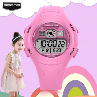 Đồng hồ Trẻ Em SANDA Nhật Bản 331 Bền Bỉ + Chống Nuốc Tốt thumbnail