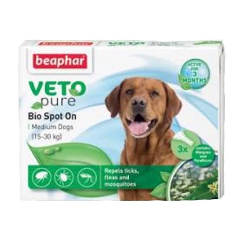 Thuốc Nhỏ Gáy Cho Chó Cỡ Trung Ngăn Ngừa Ve Beaphar Bio Green