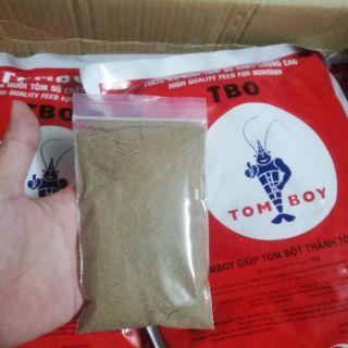 100g Cám TOMBOY hạt siêu mịn - thức ăn cho cá bột, tôm giống, tép con thumbnail