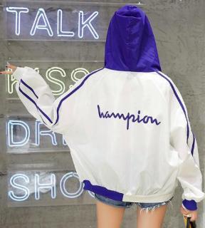 Áo khoác cho nữ Hampion phong cách áo khoác chống nắng nữ thumbnail