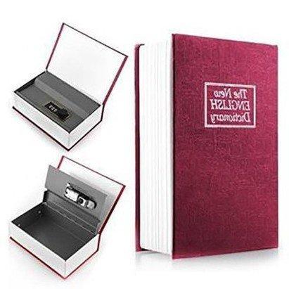 Két sắt mini quyển sách - bí mật của riêng bạn