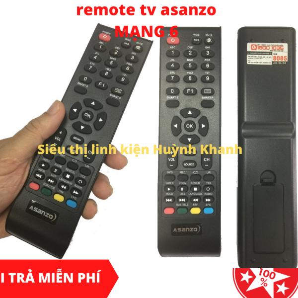 Bảng giá REMOTE TV ASANZO MẠNG 6 SIÊU BỀN CHÍNH HÃNG