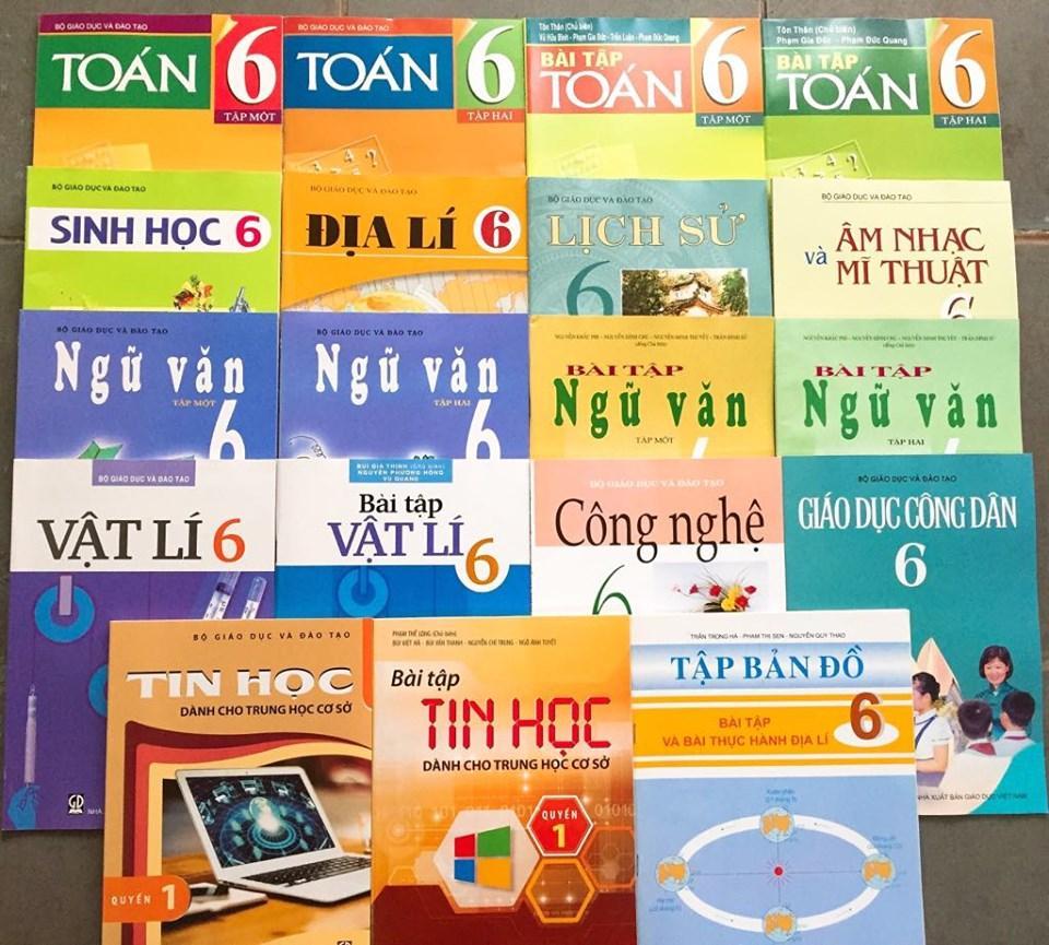 Mua Bộ sách giáo khoa và sách bài tập lớp 6 (gồm 19Q)