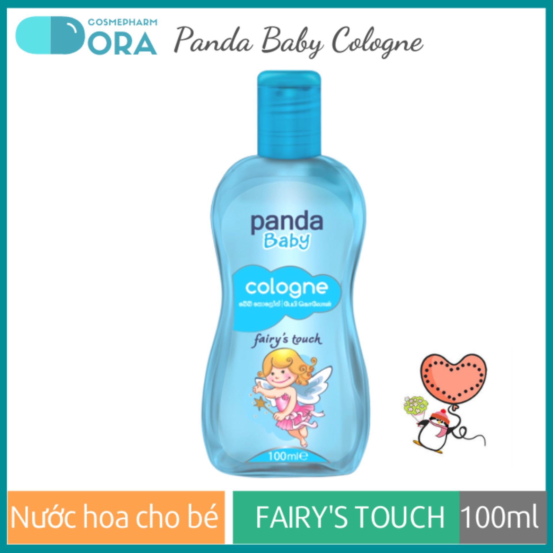Giá Cực Tốt Khi Mua Nước Hoa Cho Bé Panda Baby Cologne Fairy's Touch 100ml