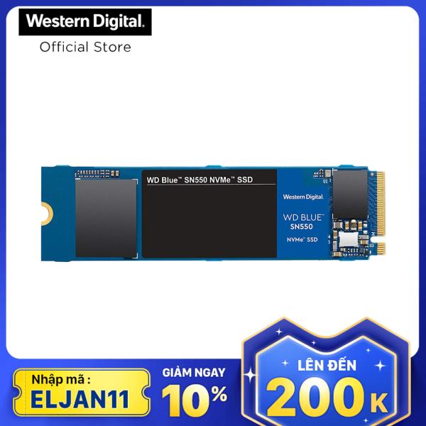 Bảng giá Ổ cứng SSD WD Blue SN550 PCIe Gen3 x4 NVMe M.2 1TB WDS100T2B0C Phong Vũ