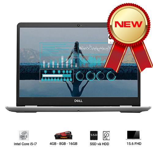Laptop Dell Inspiron 5584 : i5-8265U | 4GB RAM | 1TB HDD | GeForce MX130 2GB | 15.6 FHD | Win10 | Silver - Hàng Nhập Khẩu