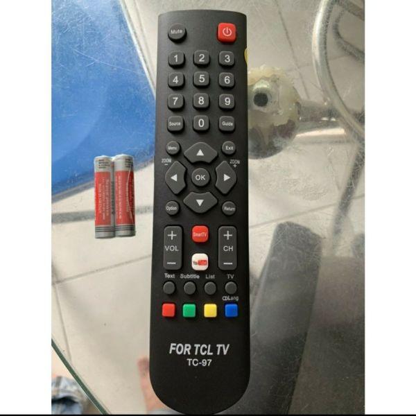 Bảng giá điều khiển tivi TCL TV 97 Kèm tặng pin tốt