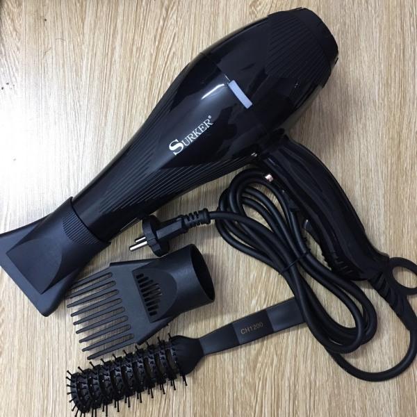 [CÔNG SUẤT THẬT] Máy sấy tóc Surker SK-3901 3000w + Tặng lược Chaoba