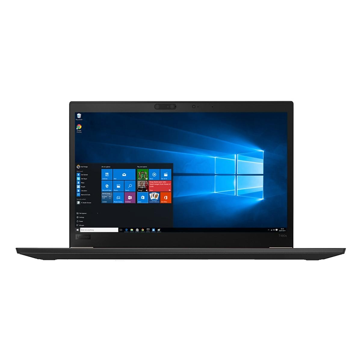 Laptop Lenovo ThinkPad T480s 20L7S00T00 Core i5-8250U/Free Dos (14 inch) (Black)