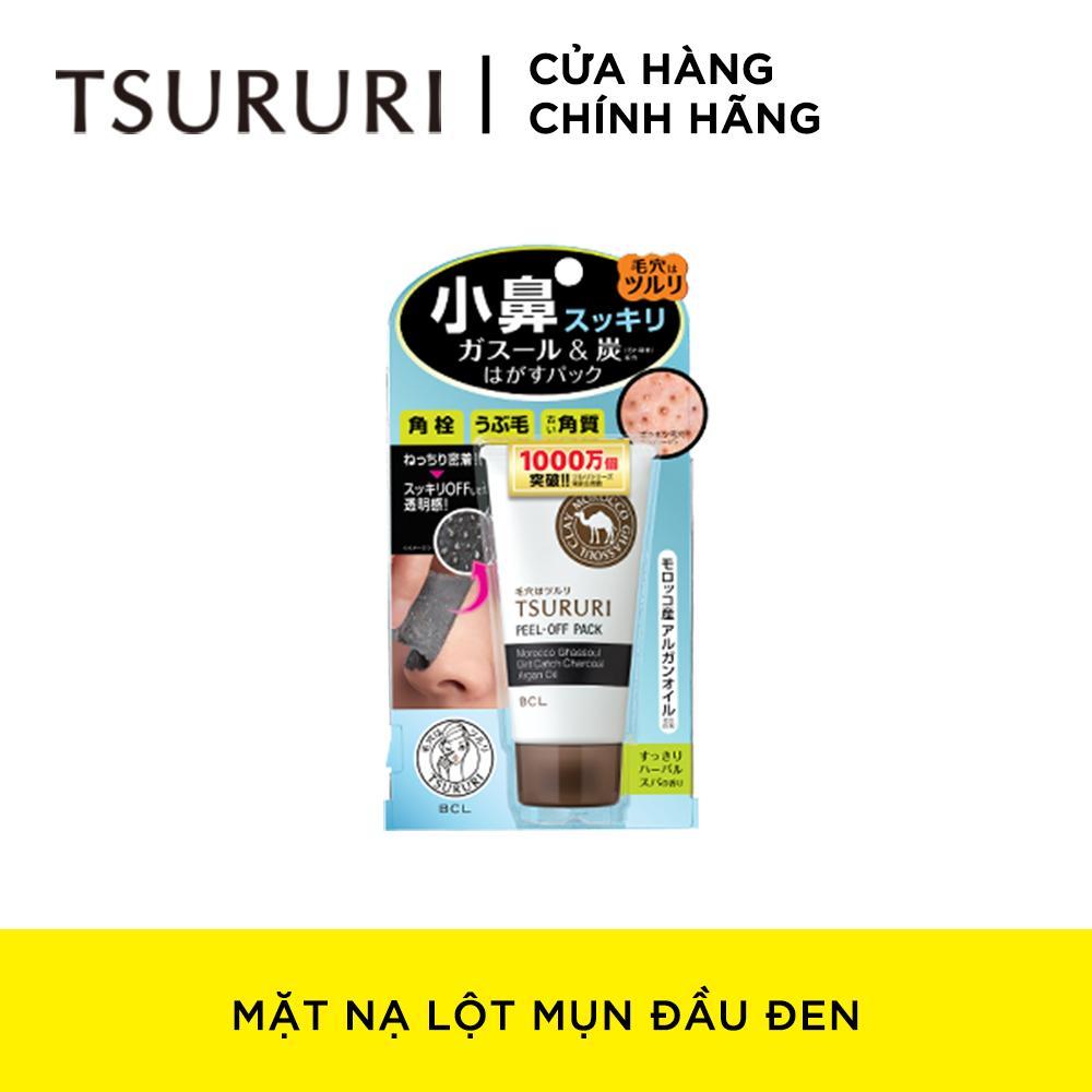 Mặt Nạ Lột Mụn Đầu Đen Tsururi Peel-Off Pack 55g tốt nhất