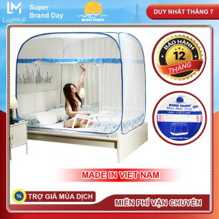 [Flash Sale] Mùng Chụp Tự Bung Cao Cấp Hàng Việt Nam Chống Muỗi Tốt Có Chân Viền - Bình Minh thumbnail