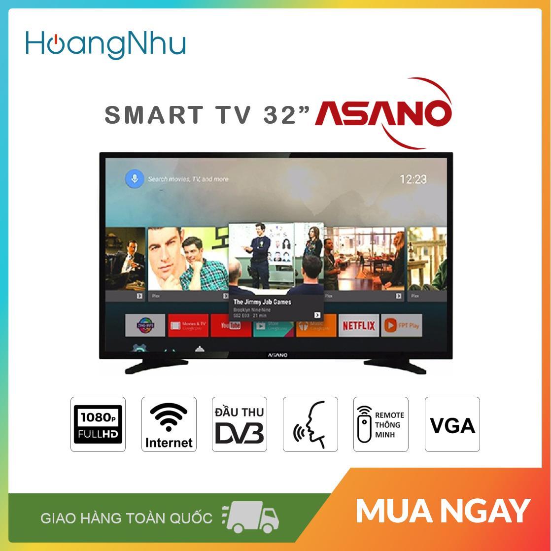 Bảng giá Smart Voice TV Asano 32 inch 32EK7 (Full HD, Android 8.0, Wifi, Điều khiển giọng nói, truyền hình KTS) - Bảo hành toàn quốc 2 năm