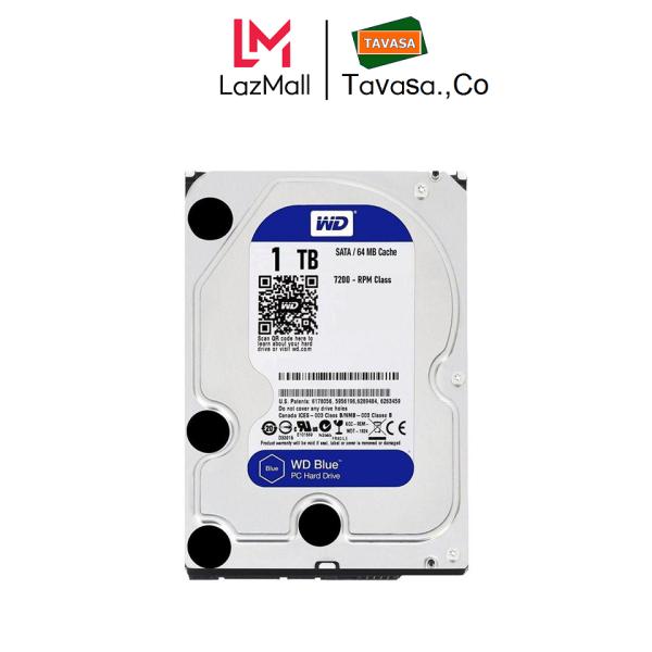 Bảng giá Ổ cứng HDD Western Digital HDD WD Blue 1TB 3.5 inch SATA III 64MB Cache 7200rpm - WD10EZEX Phong Vũ
