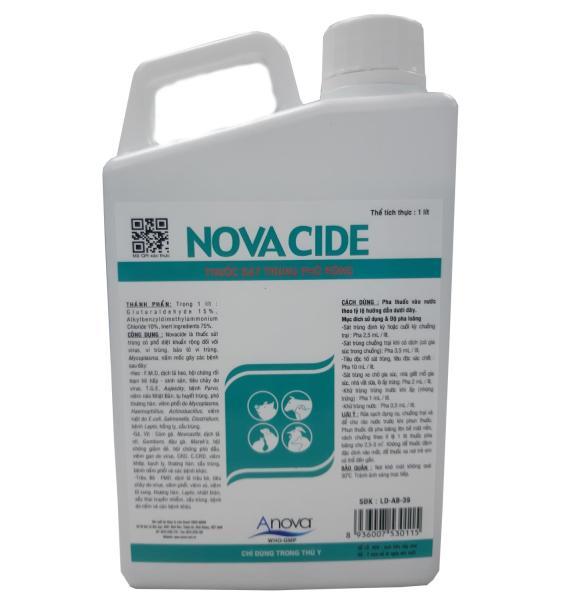 THUỐC SÁT TRÙNG PHỔ RỘNG (Novacide)