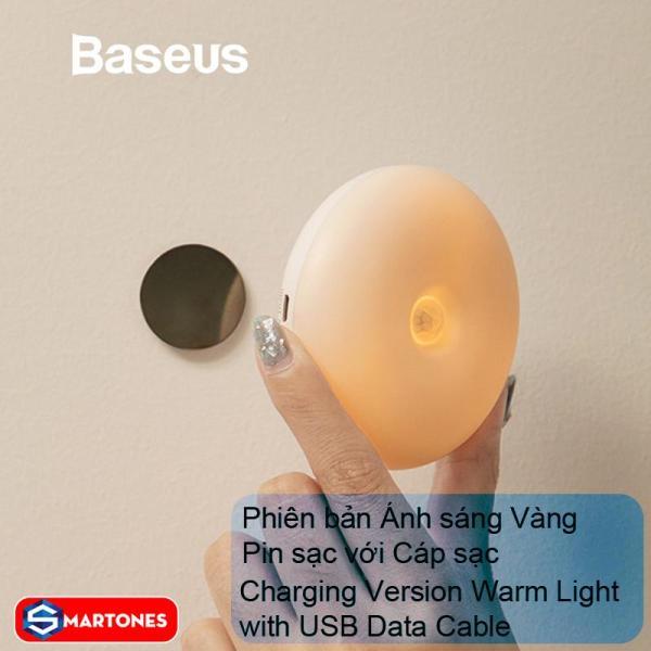 Đèn thông minh Baseus Light Garden Series ,tích hợp cảm biến chuyển động góc rộng 120 độ và cảm biến ánh sáng tự động bật tắt giúp tiết kiệm điện năng, thuận tiện sử dụng