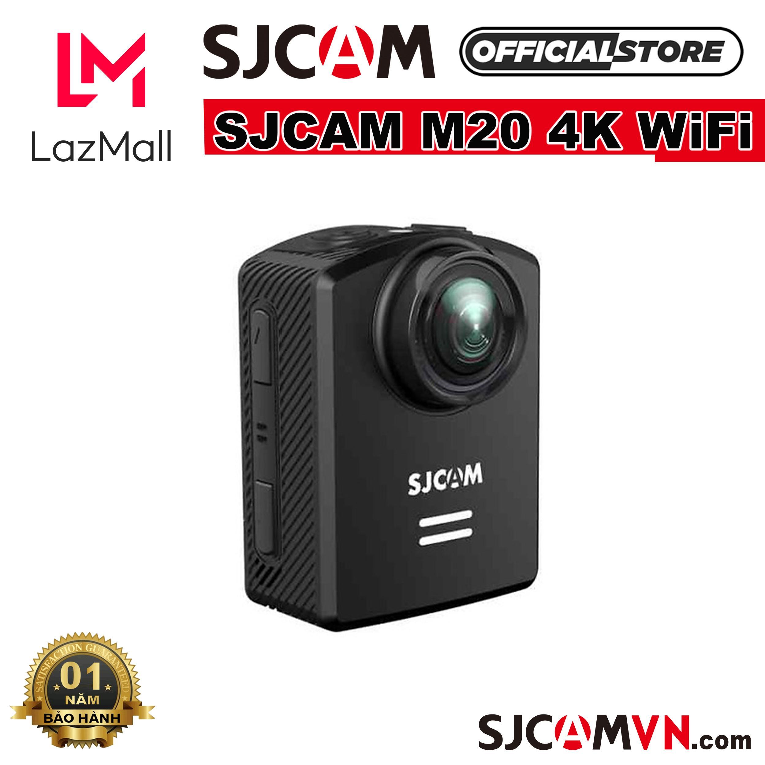 Offer Khuyến Mãi Camera Hành Trình SJCAM M20 4K WiFi - Hãng Phân Phối Chính Thức