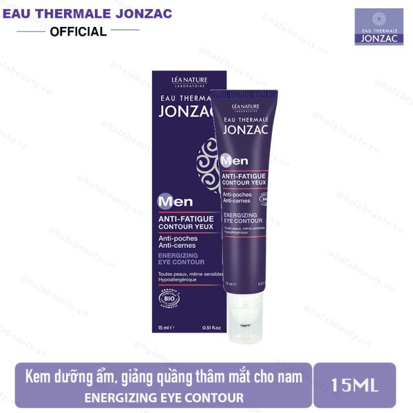 Kem dưỡng ẩm, làm giảm quầng thâm mắt dành cho nam Eau Thermale Jonzac MEN Energizing Eye Contour 15ml