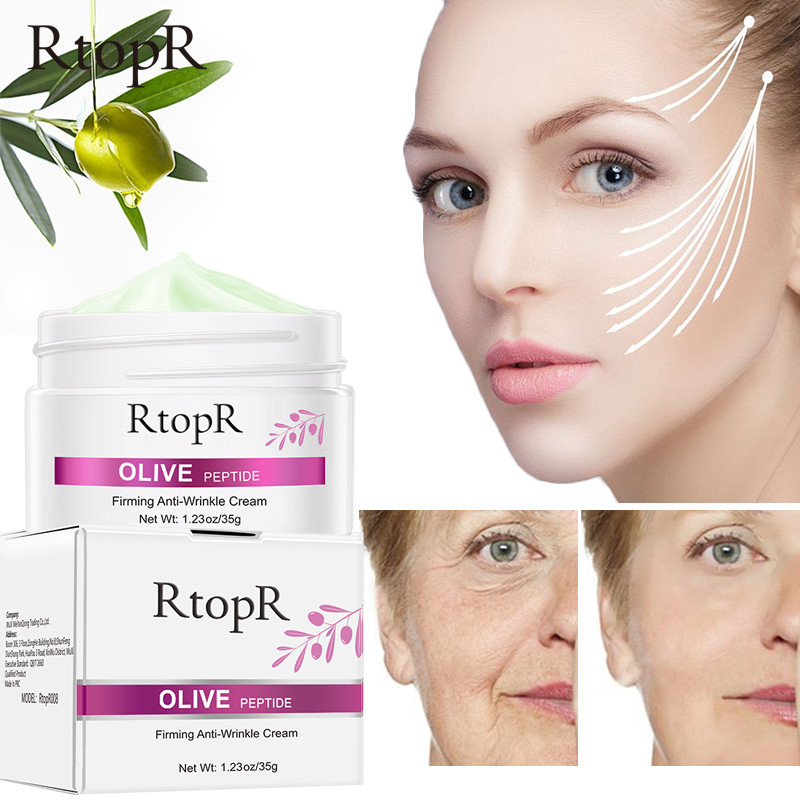 Kem RtopR Olive Peptide có tác dụng chống lão hoá kiểm soát dầu và thu nhỏ lỗ chân lông cho da - INTL giá rẻ