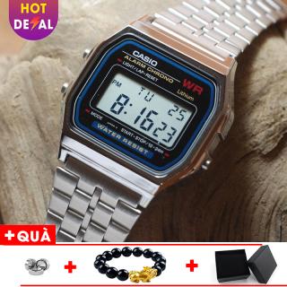 Đồng hồ nam A159 full box điện tử máy Nhật chống nước siêu đẹp - Đồng hồ - đồng hồ unisex - đồng hồ thời trang - đồng hồ phong cách - a159 unisex thumbnail