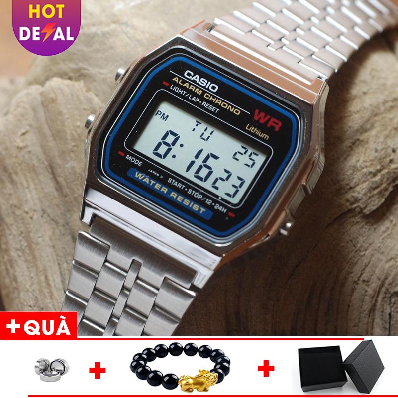 Nơi bán Đồng hồ nam A159 full box điện tử máy Nhật chống nước siêu đẹp - Đồng hồ - đồng hồ unisex - đồng hồ thời trang - đồng hồ phong cách - a159 unisex