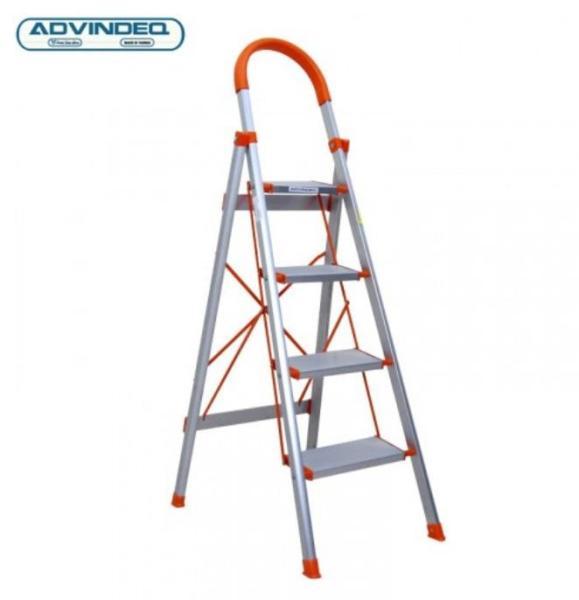 Thang nhôm ghế 4 bậc xếp gọn Advindeq ADS-704