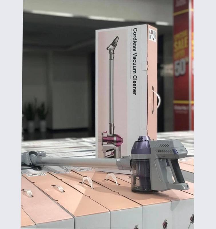 Máy hút bụi cầm tay không dây nhiều đầu hút Lock&Lock Cordless Vacuum Cleaner ENV111