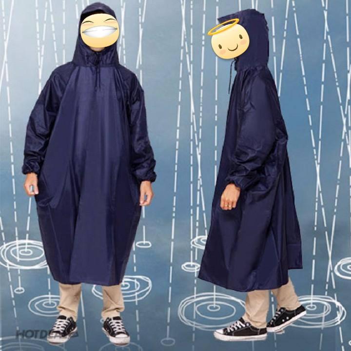 Áo mưa bít bông siêu chống thấm rộng