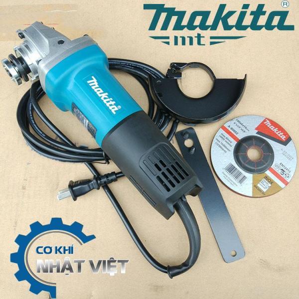 Máy mài máy cắt cầm tay Makita 9553B (Tặng kèm 1 lưỡi cắt sắt) - chất liệu cao cấp, sử dụng đơn giản, an toàn cho người sử dụng