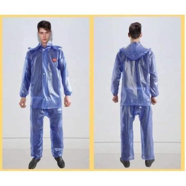Áo mưa bộ chấm bi, cam kết sản phẩm đúng mô tả, chất lượng đảm bảo an toàn đến sức khỏe người sử dụng