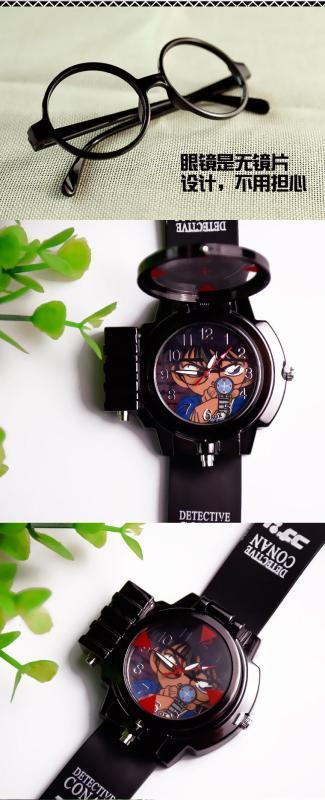 Nơi bán Đồng hồ bé trai conan mới + kính thám tử