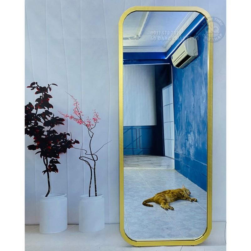 Gương soi toàn thân treo tường có chân 50 160cm