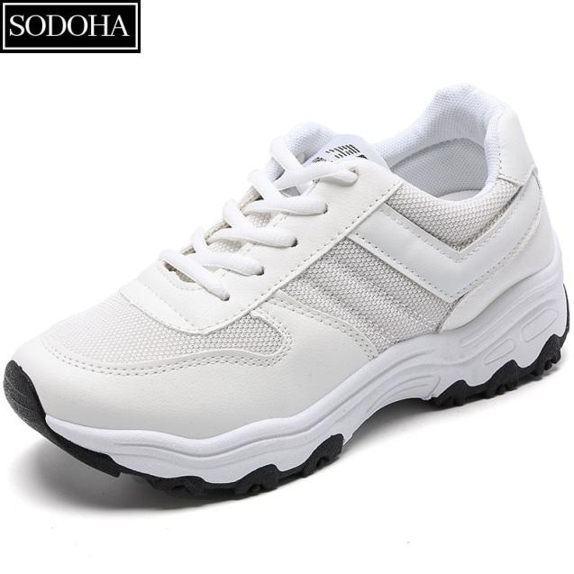 Giày Sneaker Thời Trang SODOHA Y3-659W Màu Trắng { Top 10 Mẫu Giày Yêu Thích Của Năm } giá rẻ