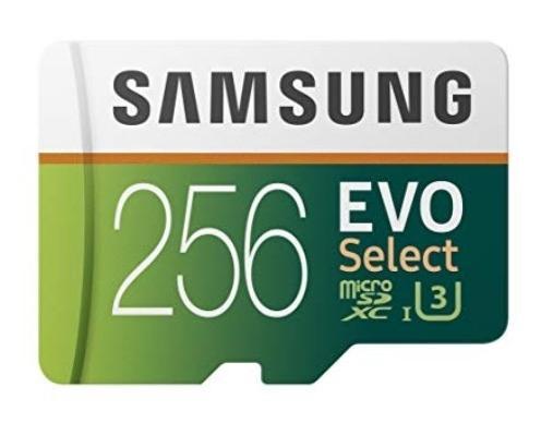 Samsung 256GB MicroSDXC EVO Chọn Thẻ nhớ Adaptor