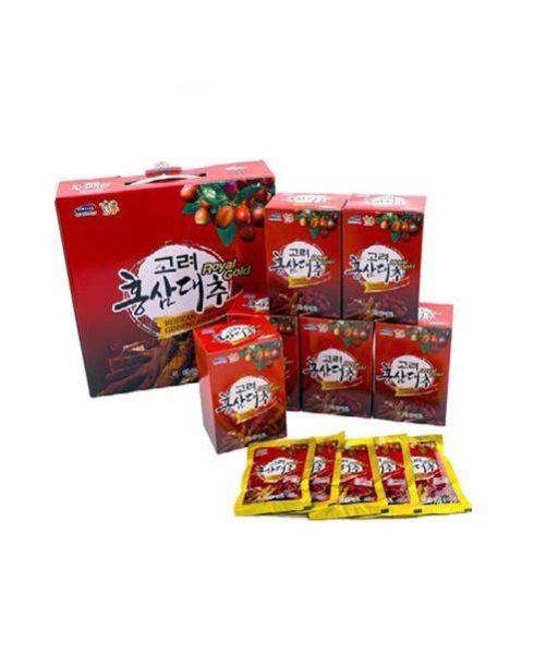 Nước Hồng Sâm Táo Đỏ KANGHWA Hàn Quốc hộp 30 gói * 70ml (Korean Red Ginseng Jujube Royal Gold)