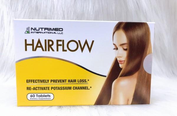 (Hộp 60 viên) HAIR FLOW – Giúp tóc chắc khỏe, ngăn ngừa rụng tóc.