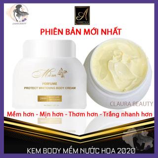Kem Body Mềm Nước Hoa 2020 Acosmetics Mẫu Mới Nhất, Kem dưỡng Trắng Da Toàn Thân, Dưỡng Ầm, Chống Nắng,Chống Lão Hoá, Chăm sóc da, Phục hồi, Tái Tạo Da, Giúp Da Trắng Mịn, Trẻ Trung, Perfume Protect Whitening Body Cream Claura BeautyK thumbnail
