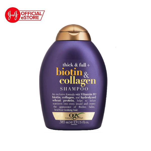 Dầu gội đầu OGX Thick & full + biotin & collagen 385ml