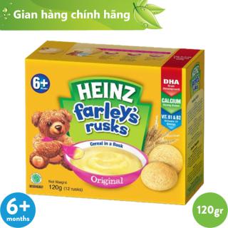 Bánh Quy Ăn Dặm HEINZ FARLEY S TRUYỀN THỐNG 120g thumbnail