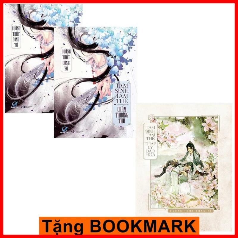 Mua Combo truyện ngôn tình hay nhất: Tam sinh tam thế chẩm thượng thư + Tam sinh tam thế thập lí đào hoa