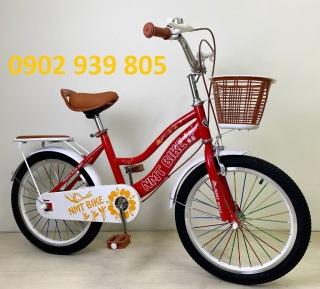Xe đạp 18 inch nữ NMT cho bé 5-8 tuổi thumbnail