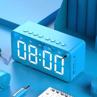 Loa Bluetooth kèm Đồng hồ Cát Thái BT506 mặt kính âm bass cực đỉnh nhỏ gọn dễ dàng mang theo nhiều chức năng đồng hồ và báo thức thumbnail