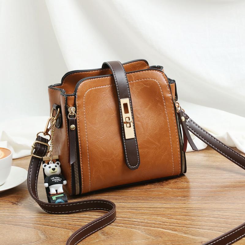 New Arrival Small Bag Womens Bag 2019 New Style Fashion Korean Style Fashion Summer Versatile Crossbody Bag Bucket Bag INS