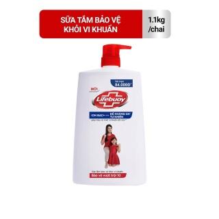 Sữa tắm Lifebuoy Bảo vệ khỏi vi khuẩn 1,1kg (Chai) đỏ thumbnail