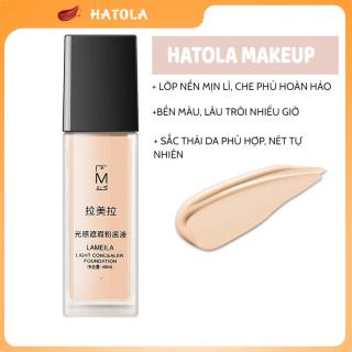 HATOLA - Kem Nền Light Concealer Foundation Che Khuyết BB Cream Lameila Kiềm Dầu Sáng Mịn Da 40ml - KEM-NEN-TT thumbnail
