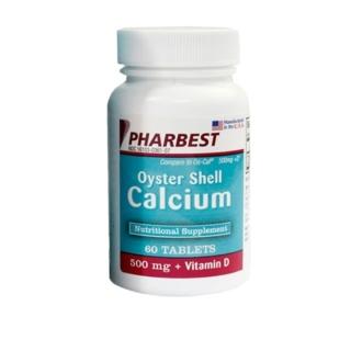 Viên uống bổ sung canxi của Mỹ, canxi dễ hấp thu chiết xuất từ vỏ hàu Oyster Shell Calcium 500mg + Vitamin D, viên uống canxi tốt cho bà bầu, ngăn ngừa loãng xương, viên uống canxi hỗ trợ tăng chiều cao thumbnail