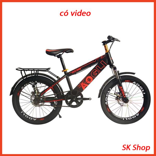 Phân phối Xe đạp thể dục, xe đạp thể thao khung lớn bánh 18in, xe đạp học sinh, xe đạp địa hình, xe đạp Aogli địa hình