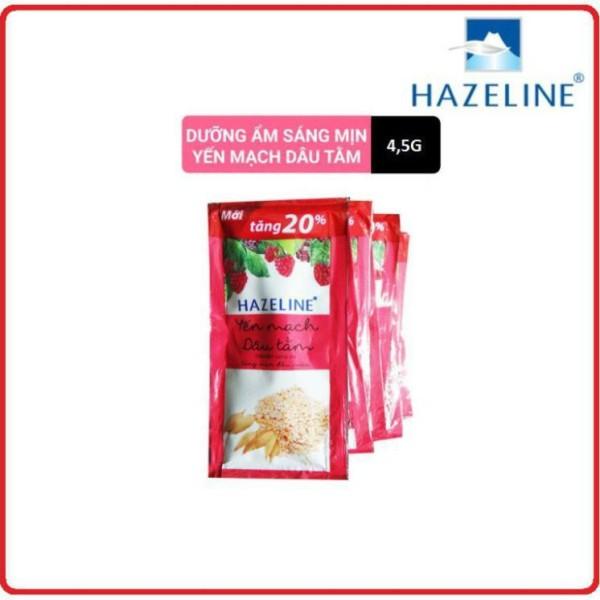 Sữa Tắm Dưỡng Da HAZELINE Dây 4,5g x 12 Gói giá rẻ