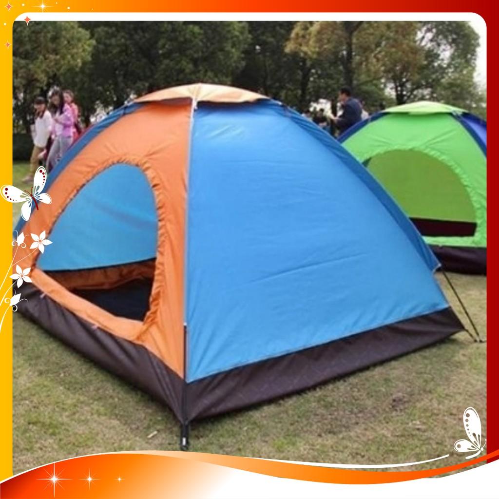 Lều Cắm Trại Chống Thấm Nước Vải Dù Kích Thước 200x150x110cm - lều du lịch - lều cắm trại 2 người 4 người