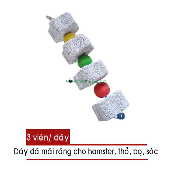 Dây đá mài răng cho Hamster, Thỏ, Bọ,... (3 viên) - [Nông Trại Thú Cưng]